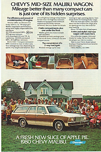 Chevrolet Malibu 1980 ad (Image1)
