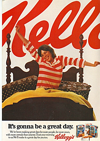 Kellogg's cereals ad 1980 (Image1)