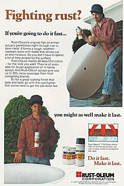 Rust-Oleum corporation ad 1980 (Image1)