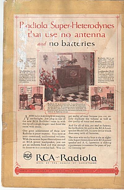 RCA Radiola ad 1926 (Image1)