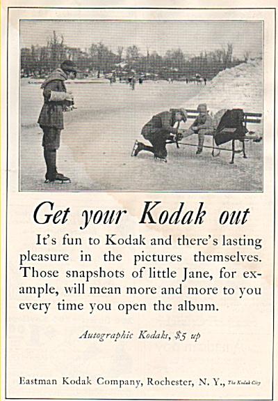 Eastman Kodak company ad 1926 (Image1)