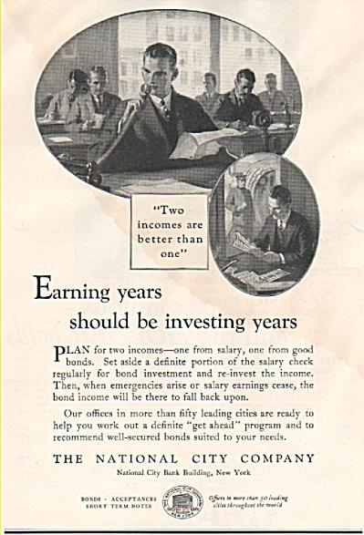 The National City Company ad 1926 (Image1)