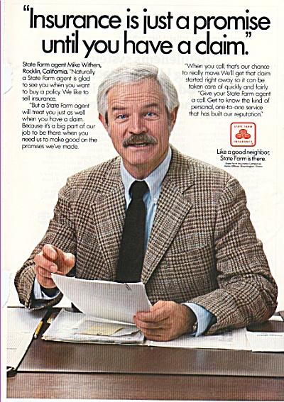 State Farm insurance ad 1980 (Image1)