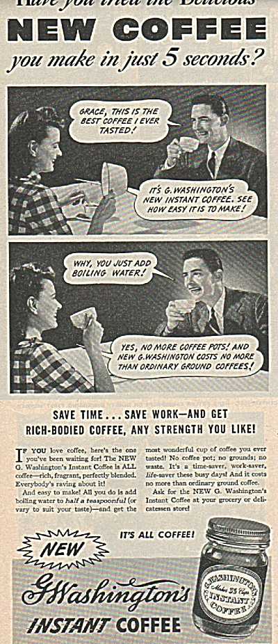 G.Washington instant coffee ad (Image1)