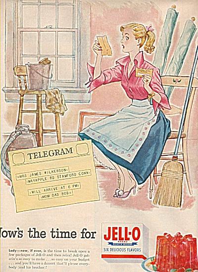 Jello-o 6 delicious flavors  ad (Image1)