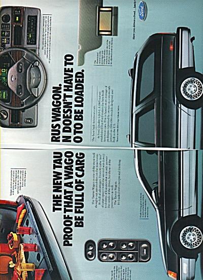 Ford Taurus wagon ad 1986 (Image1)