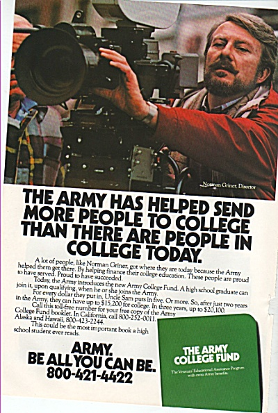 aRmy recruiting -oster - ad 1982 (Image1)