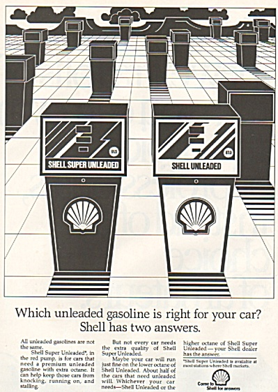 Shell Gasoline ad 1982 (Image1)