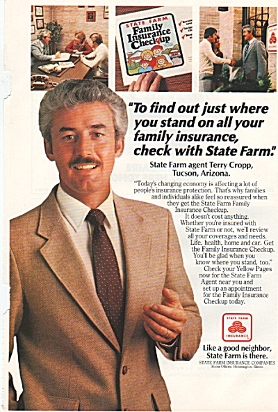 State  Farm Insurance ad 1982 (Image1)