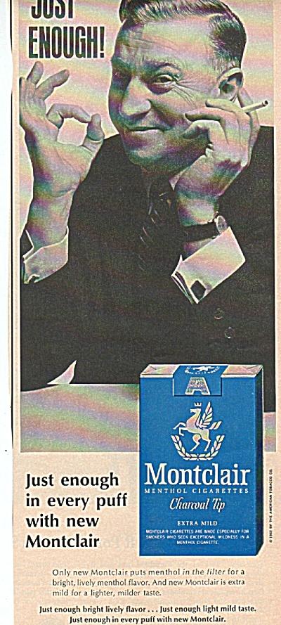 Montclair menthol cigarettes ad (Image1)