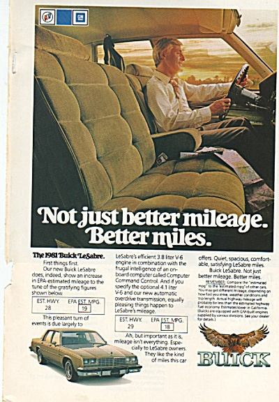 Buick LeSabre for 1981 ad (Image1)