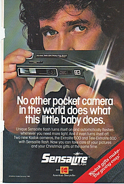 Kodak camera - MICHAEL LANDON -ad 1980 (Image1)
