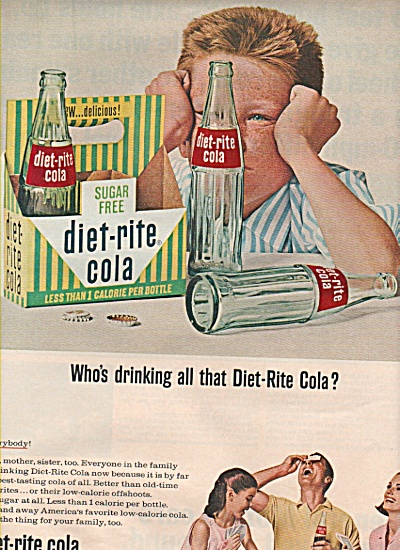 Diet rite cola ad (Image1)