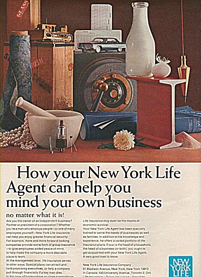 New York Life insurance ad - 1965 (Image1)