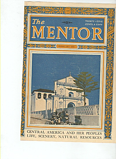 Cover  of the The Mentor Magazine - February 1925 (Image1)