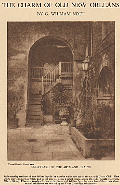 The charm of old NEW ORLEANS  story 1925 (Image1)