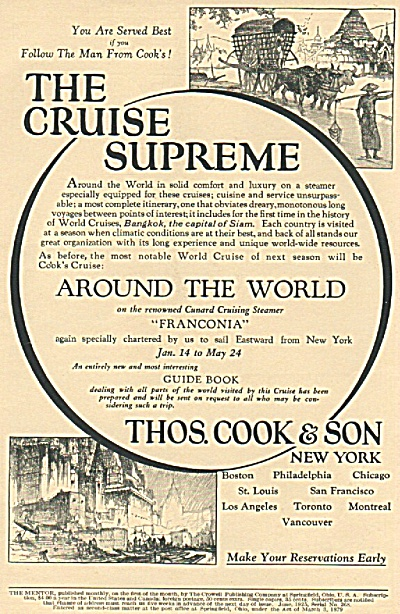 Thomas Cook & Son ad 1925 (Image1)