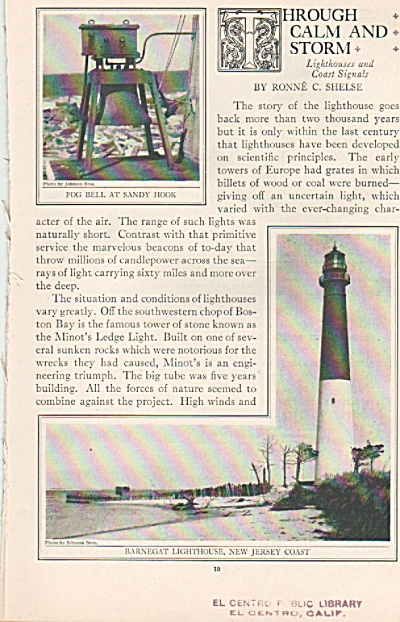 Light Houses story - 1925 (Image1)