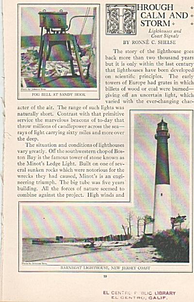 Light Houses story - 1925 (Image1)