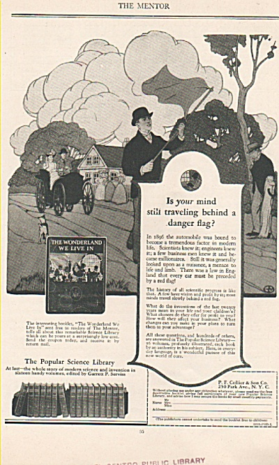 Sthe Popular Science Library Ad 1925