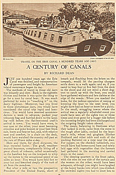 A Century of canals story - 1925 (Image1)