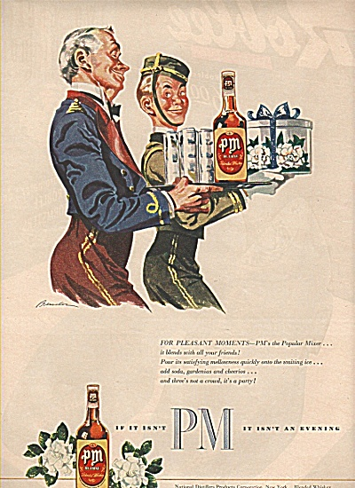 Pm Whiskey Ad