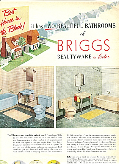 Briggs Beautyware ad 1951 (Image1)