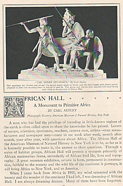 AFRICAN HALL  - A monument to  Africa story 1926 (Image1)