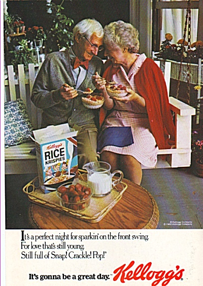 Kellogg's Rice Krispies Ad 1980