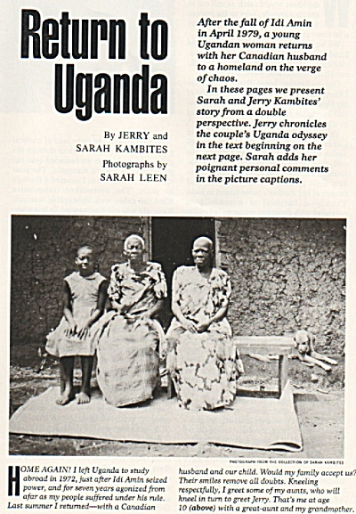Return to UGANDA  story 1980 (Image1)