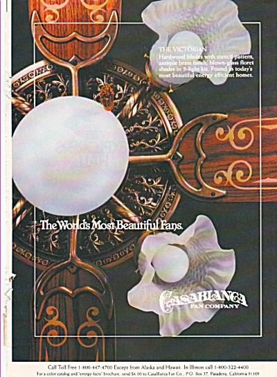 Casablanca Fan Company ad = 1980 (Image1)