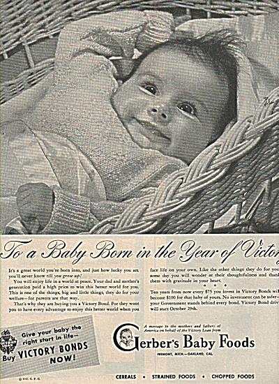 gerber's baby foods ad1945 (Image1)