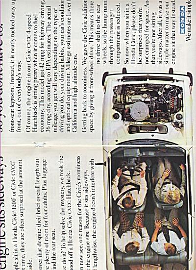 Honda automobile ad 1978 (Image1)