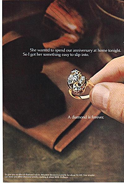 DeBeers diamond ad 1978 (Image1)