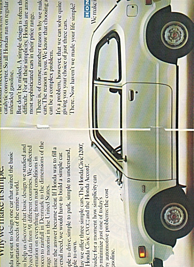 Honda auto ad 1978 (Image1)