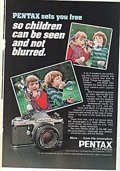 Pentax camera ad 1978 (Image1)