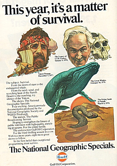 The National Geographic specials ad 1978 (Image1)
