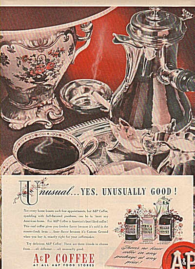 A & P coffee ad (Image1)