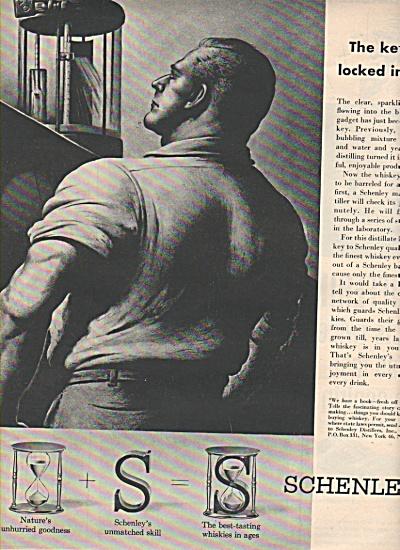 Schenley master distillers ad 1953 (Image1)