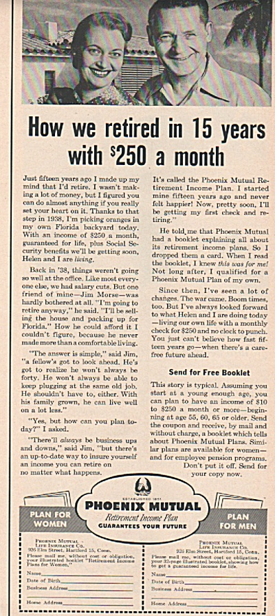 Phoenix Mutual  Life Insurance co.., 1953 (Image1)