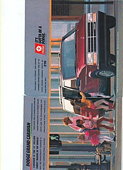 Dodge Grand Caravan ad 1988 (Image1)