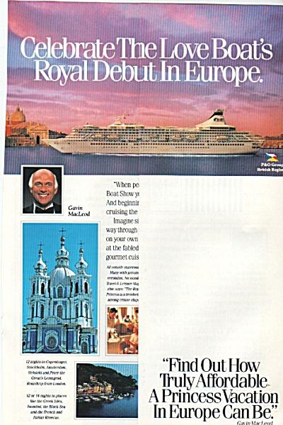 Princess Cruises ad 1988 (Image1)