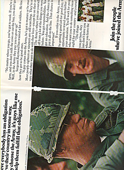 U. S. Army recruiting ad 1976 (Image1)