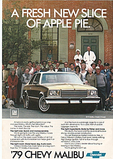 Chevrolet Malibut for 1979 (Image1)