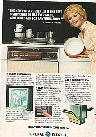 General Electric - DEBBIE REYNOLDS  ad 1978 (Image1)