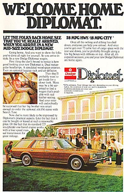 Dodge Diplomat ad 1955 (Image1)