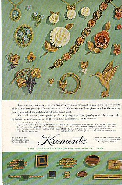 Krementz jewelry ad 1969 (Image1)