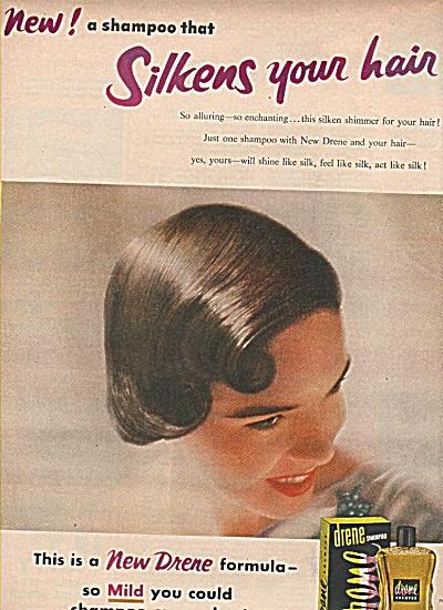Drene shampoo ad 1954 (Image1)
