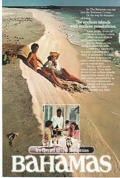 Bahamas travel guide ad 1978 (Image1)