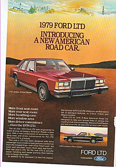 Ford LTD ad of 1979 (Image1)